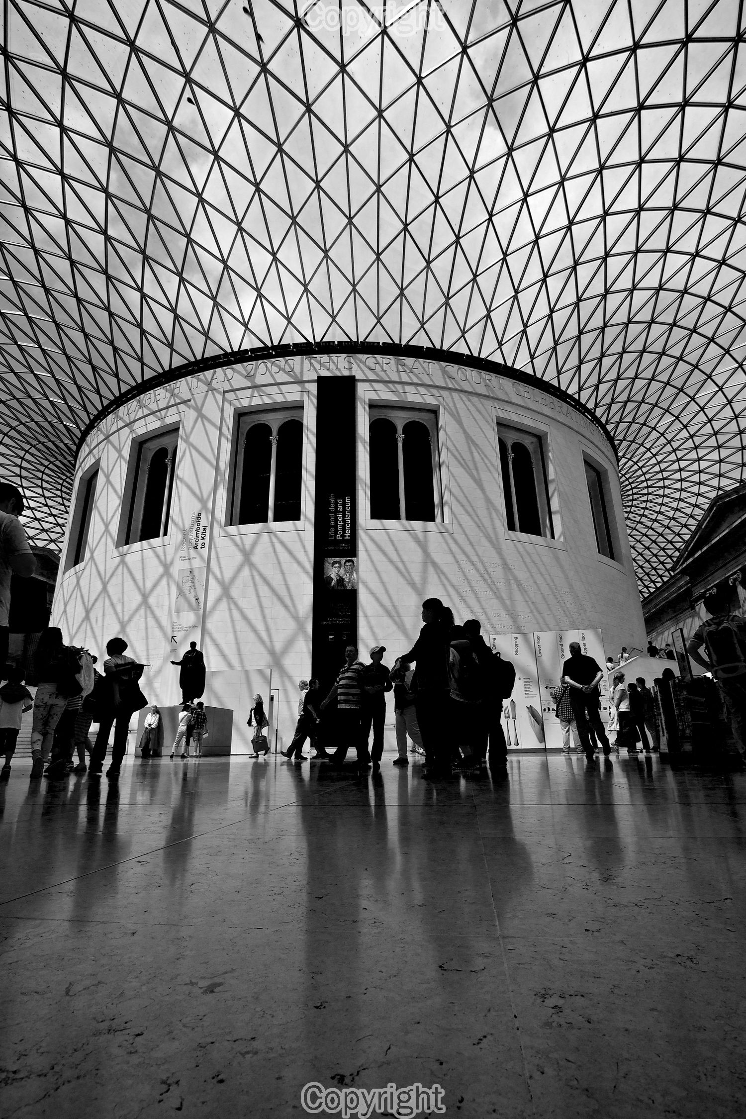 Taken with EOS600d , Canon EF-S 10-22mm at the British Museum.