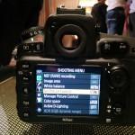 Nikon D810 Menu