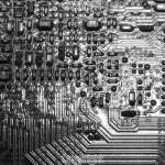 Bob Wood: Computer printed circuit board.  Equipment: Olympus OMD M1 & 60mm Macro Lens